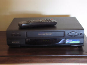 Samsung VCR for VHS tapes