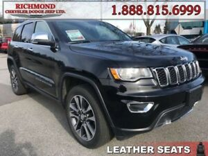 2018 Jeep Grand Cherokee Limited  - Leather Seats