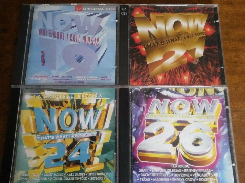 A Collection of Now That's What I Call Music (SA Edition) CDs