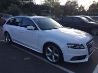 Audi A4 Avant 2.0 TFSI 211 S-Line Brand new engine fitted with 2y Audi warranty!