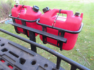 Spare Fuel Carriers for ATV, UTV, Snowmobile, Jeep, Boat or ??