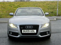 2009 09 AUDI A5 3.0TDI S-TRONIC QUATTRO S LINE AUTO WITH SAT/NAV+FULL LEATHER