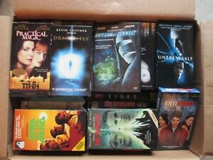 VHS Movies, Assorted