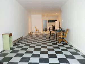 Fully furnished Gallery (Workshop, Atelier) and Residence
