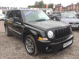 2009 JEEP PATRIOT 2.0 CRD Limited 4 X 4 DIESEL SERV HIST LEATHER PRIVACY