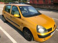 06 55 Renault Clio 1.4 Automatic Low Mileage £1695