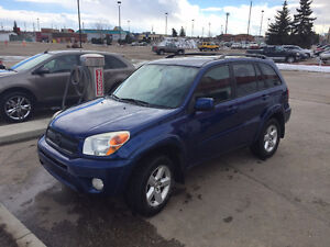 2005 Toyota RAV4-AWD  loaded leather new tires!!!!