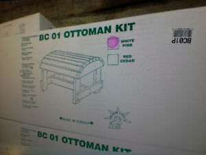 wooden ottomen kits $20. each Sarnia Sarnia Area image 1