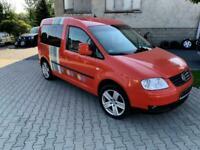 LEFT HAND DRIVE VW CADDY TRAMPER 1.9TDI MINI CAMPER LHD