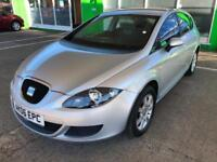 2007 Seat Leon 1.6 Reference - 9 SERVICES STAMPS - 1 FORMER KEEPER ONLY