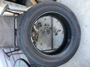 1 bridgestone tire 205 20R/16