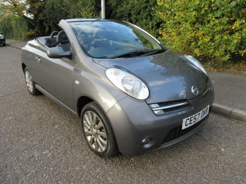 2007 nissan micra c c 1 6 sport manual petrol 2 door. Black Bedroom Furniture Sets. Home Design Ideas