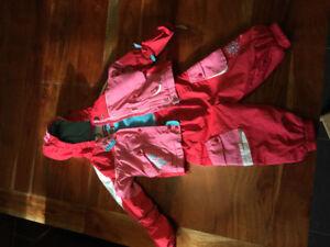 Manteau et pantalon d'extérieur, taille 12 mois