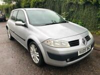 2005 RENAULT MEGANE 1.4L MANUAL PETROL 5 DOOR HATCHBACK