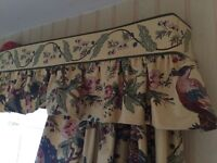 Curtains with pelmet - high quality