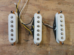 3 Pickups/micros de Fender Stratocaster mexicaine 2001
