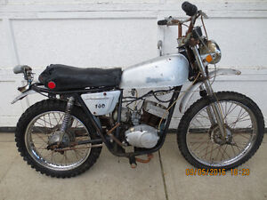 ULTRA RARE '73 Chaparal T-100cc. Restoration Candidate. $400.00