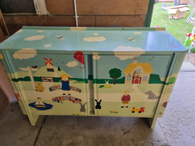 Child's toy cupboard