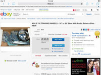 Seek partner to make adult training wheels to sell