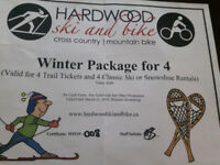 hardwood hills trail and ski rental