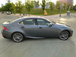 2014 LEXUS IS250 AWD NAVI BLINDSPOT SUN CAMERA LOW KM