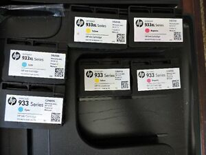 HP Officejet 6600 printer + extra black inks and colour inks London Ontario image 3