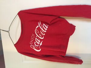 Coca-Cola sweater, size small