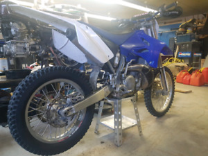08 yz250 trade for wr 250