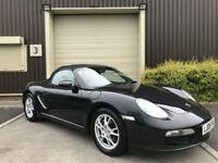 (05) 2005 Porsche Boxster 2.7 2005MY Convertible Manual Black Petrol 3dr