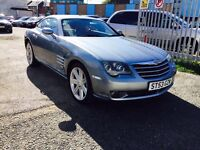CHRYSLER CROSSFIRE 3.2 V6, COUPE, LEATHER, 37K MILEAGE, 12 MONTHS MOT