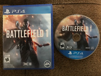 Playstation 4 Games  Bf1, Overwatch, R6S, D2