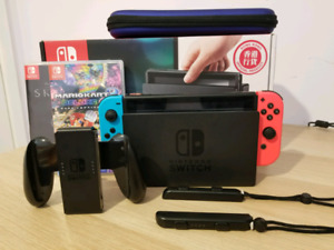 Nitendo switch console full set