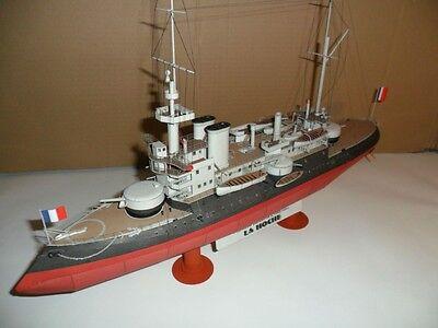 Modelik 14/11 -  Franz. Schlachtschiff La Hoche 1:200 mit Lasercutteilen