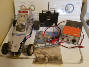 Rc - Vintage 1982 Tamiya Super champ -- No Trades