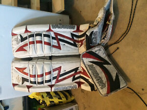 Various youth Goalie equipment