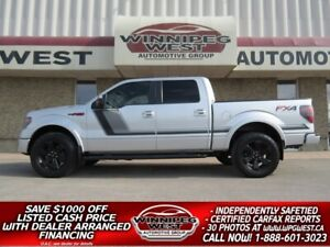 2014 Ford F-150 FX4 LUXURY 4X4, LOCAL TRADE, ALL OPTIONS & MORE!