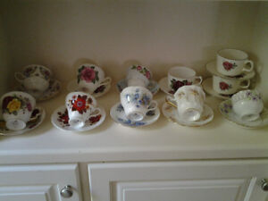 11 sets  cup and saucer