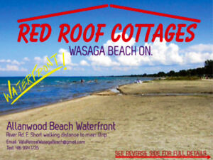 WATERFRONT!!! WASAGA BEACH !!!