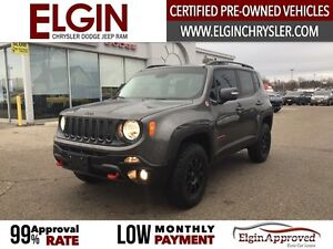 2016 Jeep Renegade Trailhawk***Leather,B-up Cam,4x4***