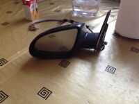Audi a2 black wing mirror passenger near side complete unit breaking spares can post