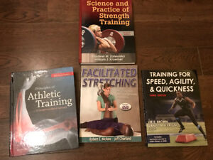 Strength & conditioning text books