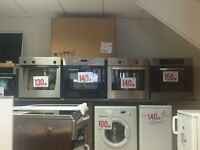 SINGLE AND DOUBLE OVENS WITH WARRANTY