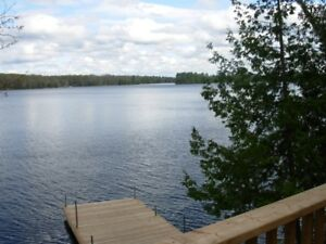 Cottage rental Cordova Lake