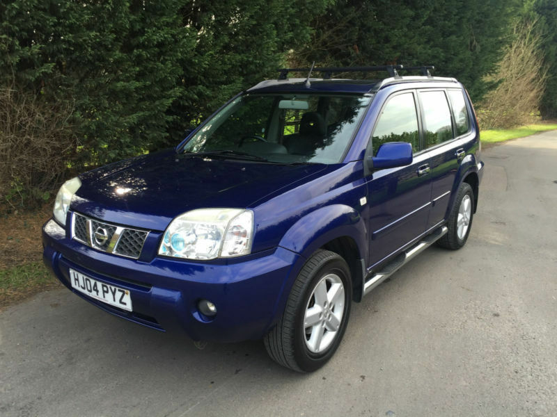 repossession part ex 2004 nissan x trail sve 2 2 dci turbo diesel 4x4 in hockley essex. Black Bedroom Furniture Sets. Home Design Ideas