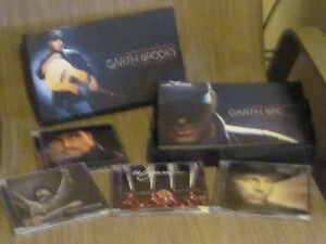 GARTH BROOKS BOXED SET - BLAME IT ALL ON MY ROOTS