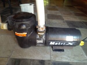 If ad is up - item still available,. MATRIX POOL PUMP. Was used