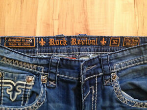 Rock revival jeans 32 Matthew *likeNew* Prince George British Columbia image 4