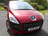 2012 12 PEUGEOT 3008 1.6 ACCESS HDI FAP 5D 112 BHP ** 1 OWNER FROM NEW ** DIESEL