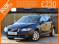 2011 Volvo V70 2.4 D5 Turbo Diesel SE LUX Geartronic 6 Speed Auto Estate Sunroof