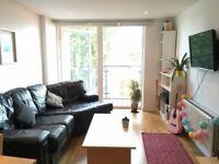 Double Room En-suite (+Free Gym) in 2 Bed Flatshare in Nine Elms (next to Battersea Power Station)